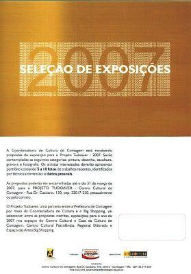 exposições no Projeto TUDOAVER 2007