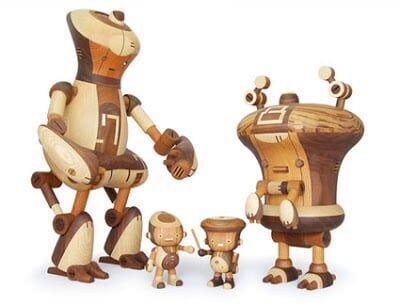 Take-G, toy-arts de madeira
