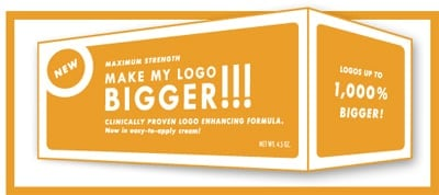 MAKE MY LOGO BIGGER!!!