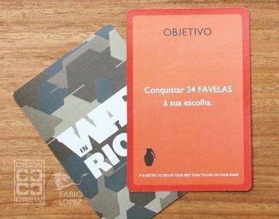 War in Rio – O jogo