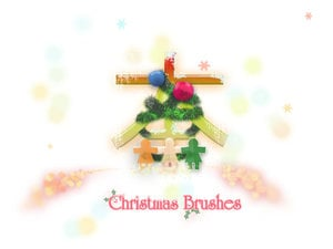 Brushes de Natal (Photoshop)