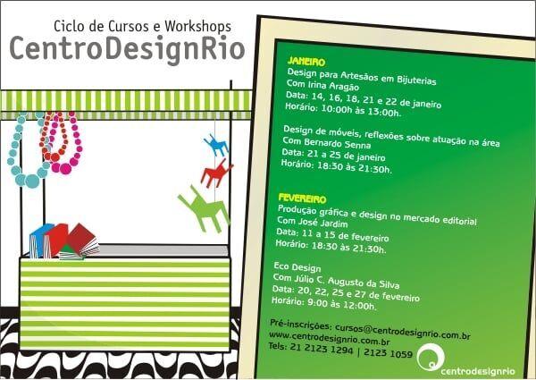 Cursos e Workshops Centro Design Rio