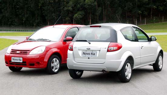 Redesign total do Ford KA