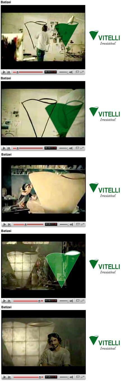 Simbolo da Vitelli aparece no Clipe de lan