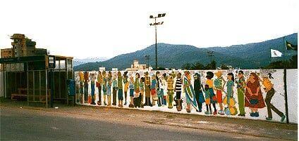 Sobre muros, arte e design