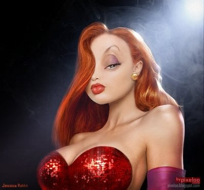 Jessica Rabbit humanizada