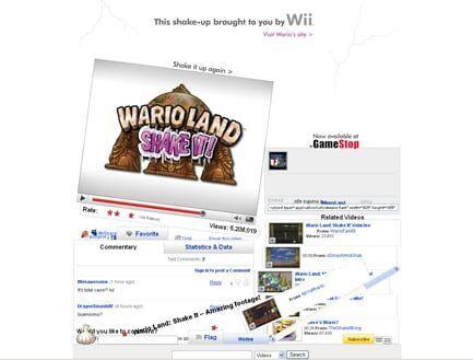 Nintendo – Wario Land: Shake It