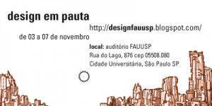 Design em Pauta FAU 2008