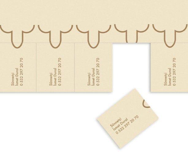 Cartão de visitas – circuncisão Gráfica