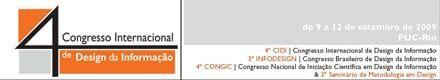 Inscrição de artigos para congresso de design da informação