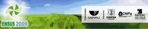 ENSUS 2009 – Terceiro Encontro de Sustentabilidade em Projeto do Vale do Itaja