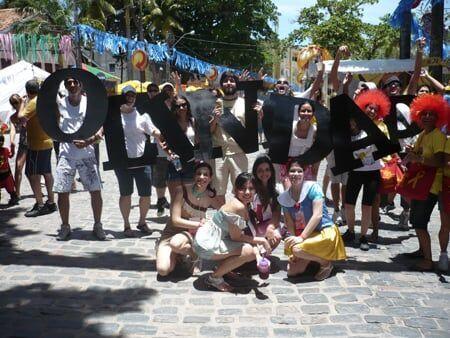Sopa de Letrinhas no Carnaval de Olinda 2009