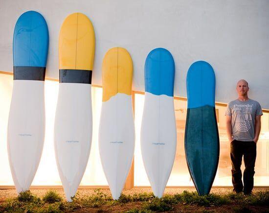 A maior inovacao no design de pranchas de surf dos ultimos 50 anos