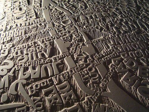 Mapa Tipogr