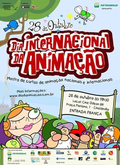 Dia internacional da Animacao (28/10) no Odeon