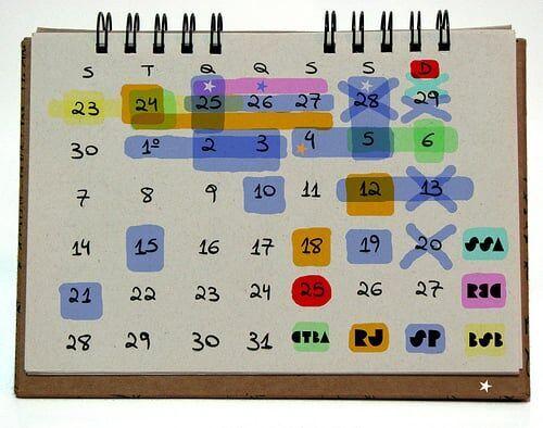 Calendário Tipo-Cali-Gráfico