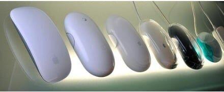 A evolução dos mouses da Apple