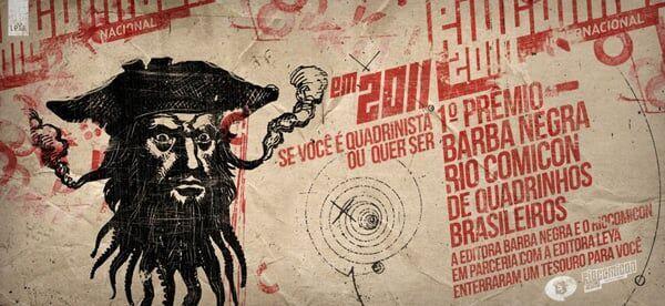 1º Prêmio Barba Negra Rio Comicon de quadrinhos brasileiros – 20 mil para o vencedor