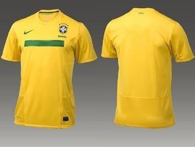 Nova camisa da seleção brasileira vaza na internet