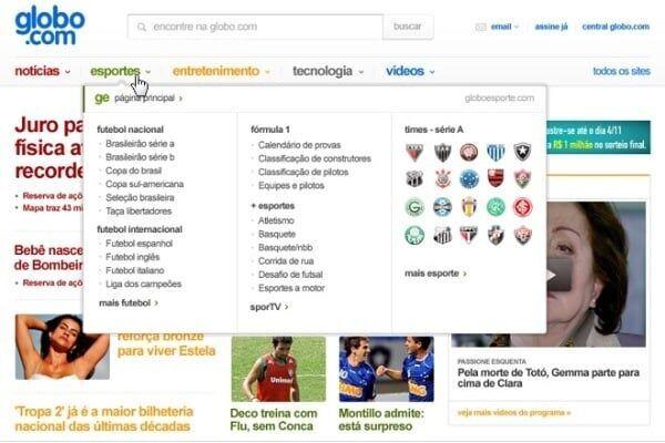 Globo lança novo site
