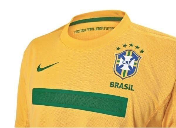 Lançada nova camisa da Seleção Brasileira