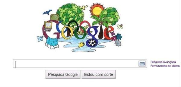 Hoje o Google Doogle é brasileiro