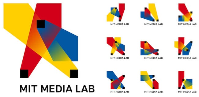 MIT Media Lab – novo logo de 40mil formas