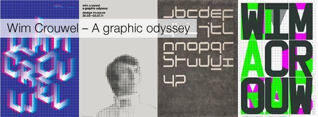 Exposição: Wim Crouwel – A graphic odyssey em Londres