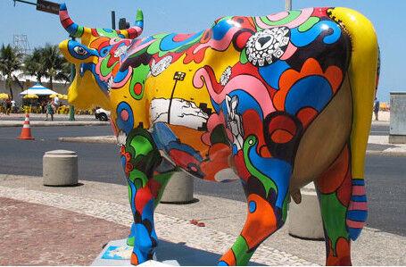 Vem ai a CowParade 2011 – Edição Rio