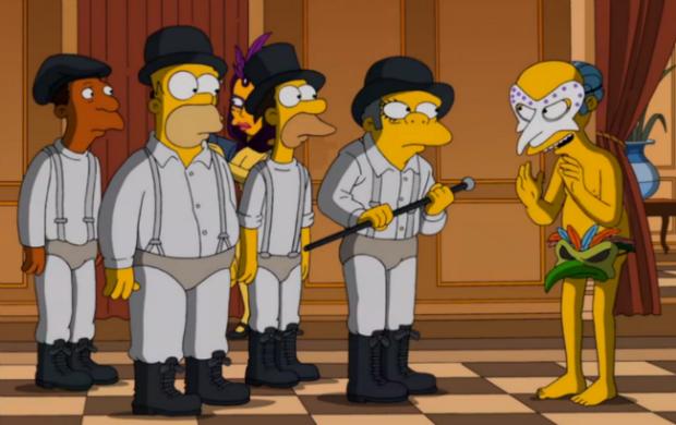 Os Simpsons faz homenagem a Kubrick