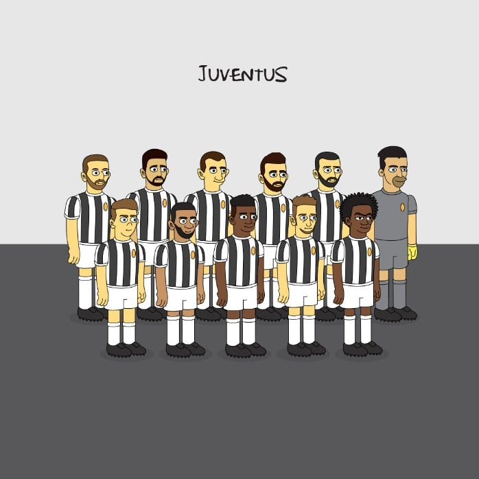 juventus-simpsons