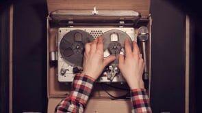 A viagem secreta de um gravador