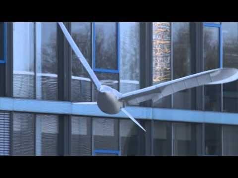 Festo – SmartBird – Decifrando o voo dos passaros