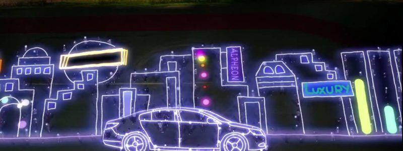 Um show de luzes – GM Daewoo Alpheon
